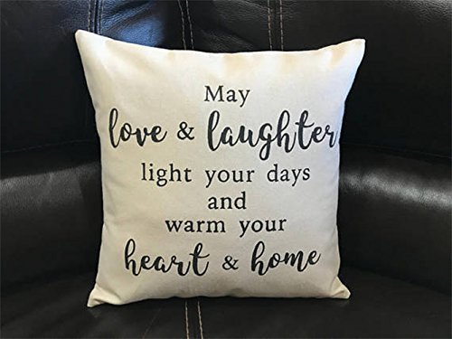 love quotes irish blessing throw pillowcase quote pillow cover home decor housewarming gift wedding bridal shower