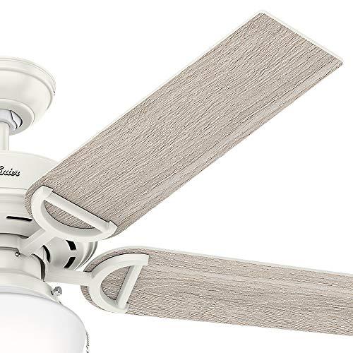 Hunter Fan Company 53417 Hunter 52'' Viola Fresh White LED Light Ceiling Fan by Hunter Fan Company (Image #5)