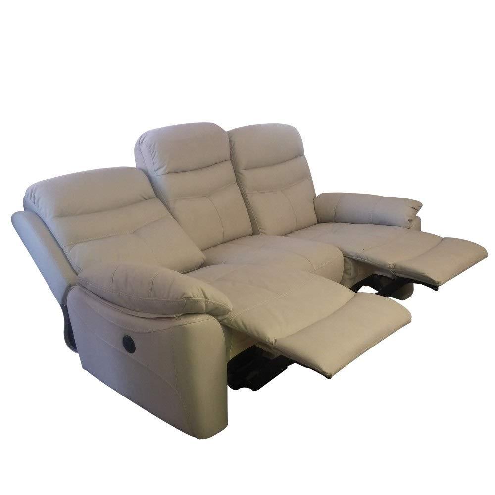 R R DESIGN - Sofá de 2 plazas Relax Manual reclinable de ...