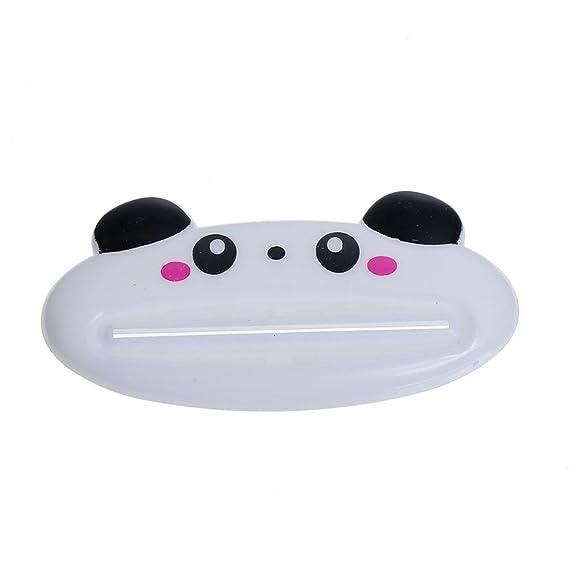 Schwein Panda Frosch B/är Zahnpastaspender Zahnpasta Squeezers pink