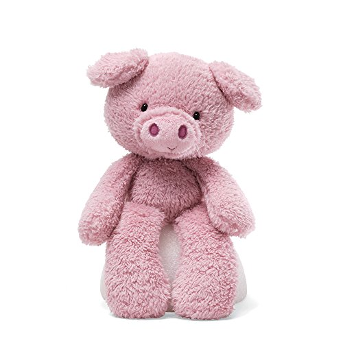 Gund Jungle - GUND Fuzzy Pig Stuffed Animal