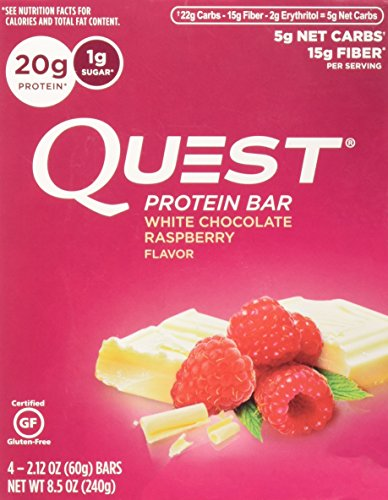 quest bar raspberry - 4
