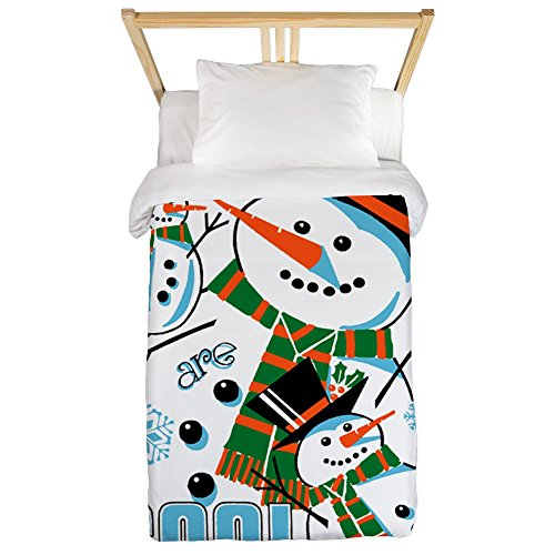 Twin Duvet Cover Christmas Frosty Snowmen Are Cool