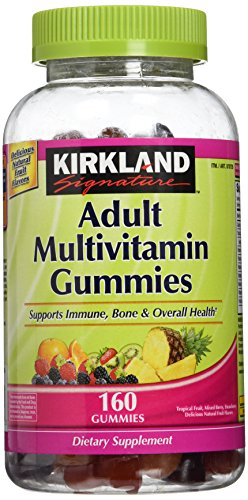 Kirkland Signature Adult Multi Gummies - 320 ct - 2 pk Adult Chewable Multivitamin