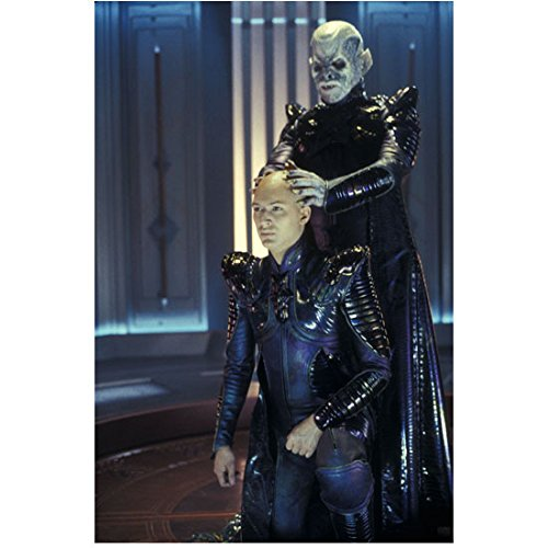 Ron Perlman 8 x 10 Photo Hellboy Beauty & the Beast Sons of Anarchy w/Tom Hardy in Star Trek:Nemesis kn