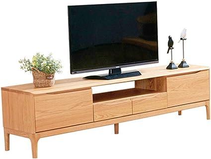sxfyzcy meuble tv chene blanc pur