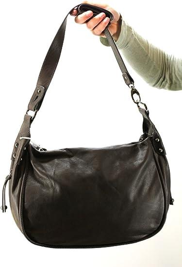 Clarys sac en cuir 5 coloris 97521 Couleur Gris: Amazon