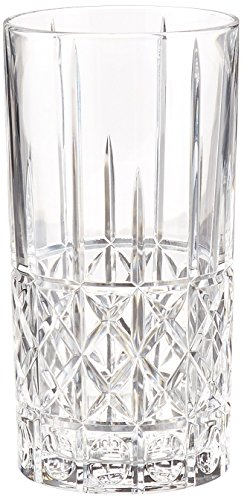 Crystal Drinking Glass - Marquis by Waterford Brady HiBall, Set of 4