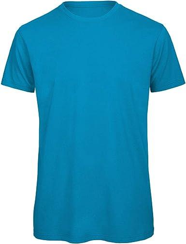 B&C - Camiseta cuello redondo Algodón orgánico Modelo Favourite hombre caballero: Amazon.es: Ropa y accesorios