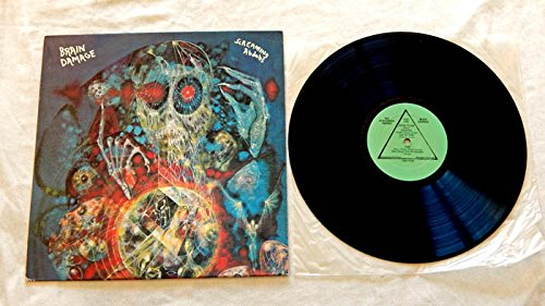 The Screaming Abdabs Live LP Brain Damage