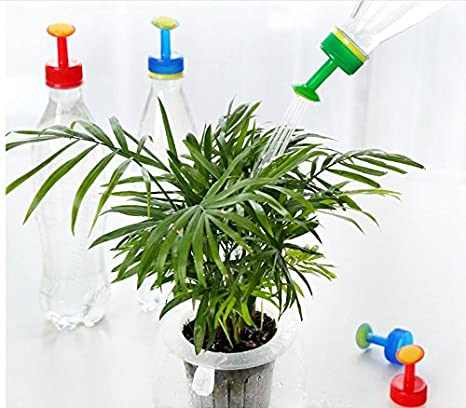 lingdun planta portátil botella de plástico boquilla de riego botella Cap Converter para riego boquilla funciona 2, 8 cm de diámetro es adecuado para la ...
