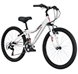 Diamondback Bicycles 2014 Lustre Girl's Mountain Bike (24-Inch Wheels), One Size, White