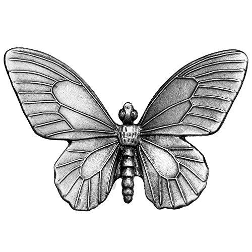 Butterfly Cabinet Knob - Big Sky Hardware Sierra Lifestyles Butterfly Knob, Pewter