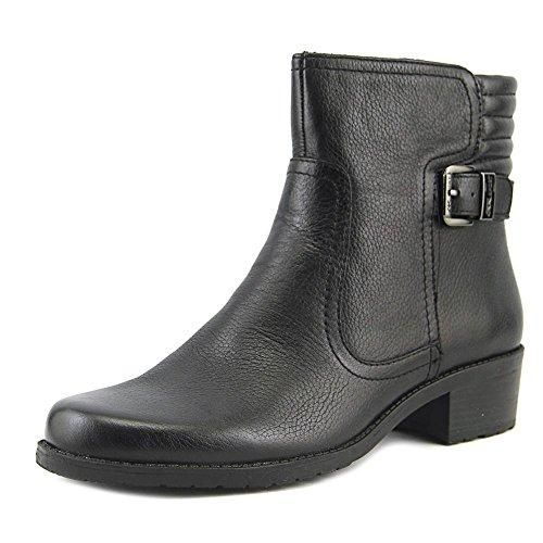 Anne Klein AK Sport Women's Lanette Motorcycle Boot, Black, 8 M - Motorcycle Sport Shoes