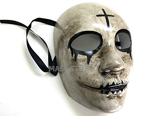 The purge mask Anarchy Purge Cross mask horror purge masked men Halloween Costume (The Purge Anarchy Costumes)