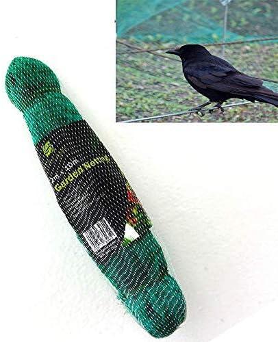 2m x 10m para Pájaros Verde de jardín Anti Pájaro Estanque Redes Para Planta Protección REJILLA REDES PARA Pest Control, guisante FRUTA Redes 1.5x1.5 cm agujeros