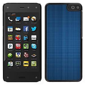 """For Amazon Fire Phone 4.7 , S-type Textura azul de la tela"""" - Arte & diseño plástico duro Fundas Cover Cubre Hard Case Cover"""