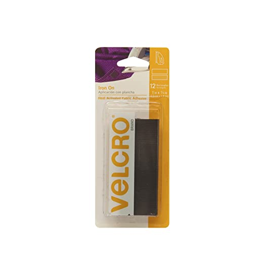Amazon.com : VELCRO Brand - Iron On, Heat Activated Fabric Adhesive - 24 in x 3/4in Tape - Beige : Mounting Tapes : Arts, Crafts & Sewing