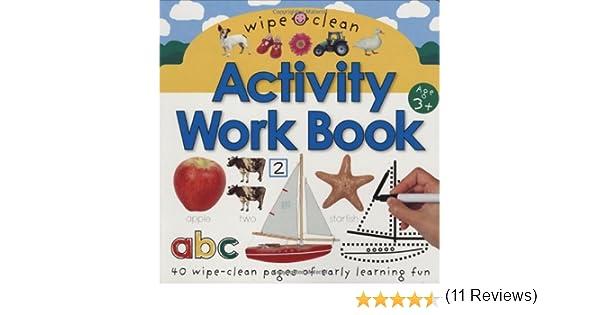 Amazon.com: Wipe Clean Activity Work Book (Wipe Clean Activity ...