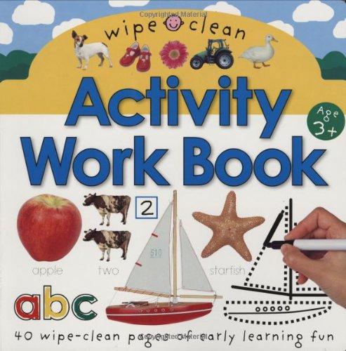 Wipe Clean Activity Work Books