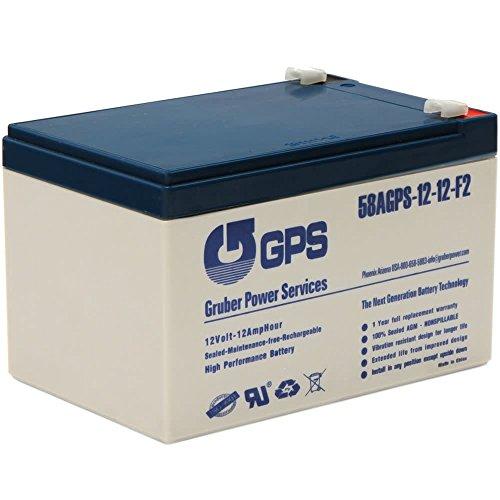 Gruber Power 12 Volt - 12 AH Battery - AGM