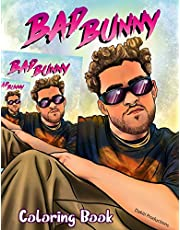 Bad Bunny Coloring Book: Bad Bunny Color Wonder Creativity Teen Coloring Books For Women And Men (High-Quality Designs)