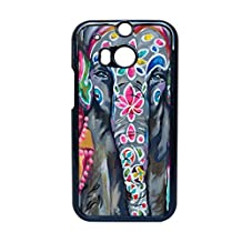 Generice Printing Colorful Elephant Drawing 4 For M8 Htc Pc Children Cases Personalised