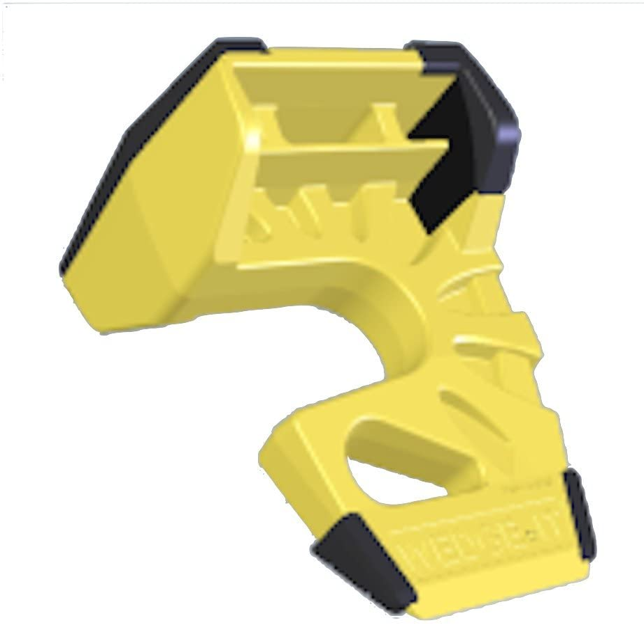 The Ultimate Door Stop Wedge-It Yellow