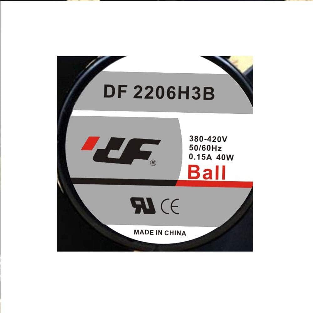 Cytom for New DF 2206H3B 380V 0.15A 22060 20CM Aluminum Frame Ball high air Volume Fan
