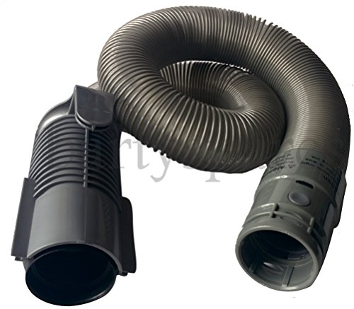 bartyspares Hose For Dyson Dc07 All Floors Vacuum Cleaner Hoover Extra Stretch With Quick Release Grey