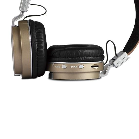 AKAI BTH08BE Cuffie Bluetooth Raggio Azione 10 metri Versione 4.2   Amazon.it  Elettronica 95113c181608