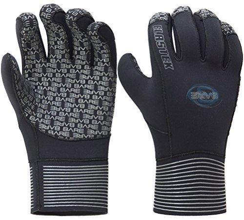 - Bare 5MM Elastek Five Finger Unisex Glove (Large)