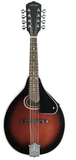 Stagg M-30 Bluegrass Mandolin with Spruce Top - Redburst