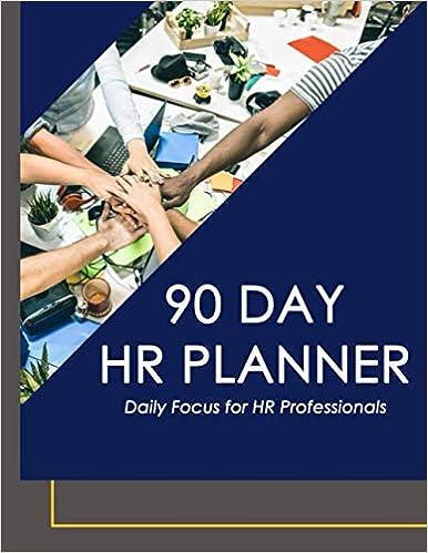 90 Day HR Planner for HR Professionals
