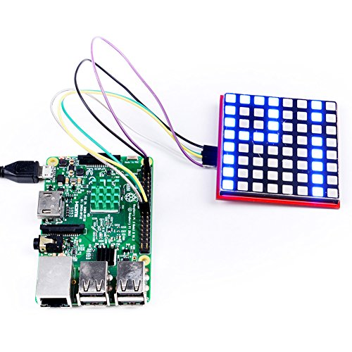 Single/bi/tri-color LED Matrix PWM driver for arduino