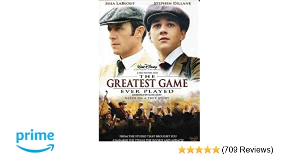 Amazon com: The Greatest Game Ever Played: Shia LaBeouf