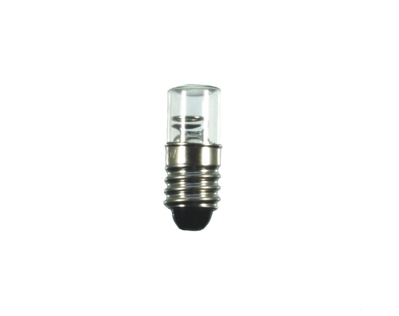Scharnberger+Has. Glimmlampe 10x25mm 28001 E10 230V 1, 5mA Anzeige- und Signallampe 4034451280014