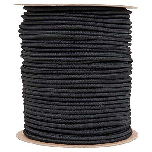 Liberty Mountain Shock Cord (Liberty Mountain Shock Cord (1/4-Inch x 500-Feet, Black))