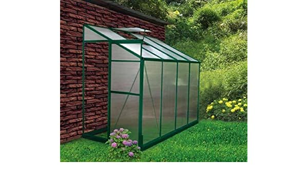 Lean To 4x8 Greenhouse Kit EarthCare LeanTo: Amazon ca