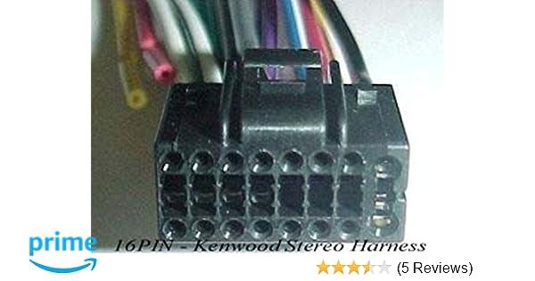 Kenwood Wire Harness KDC-358U KDC-BT558U KDC-BT710HD KDC-BT758HD KDC-HD458U on