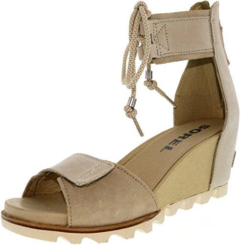 Lace Sorel Joanie Sandals Oatmeal Women's 6SxwBqHw8