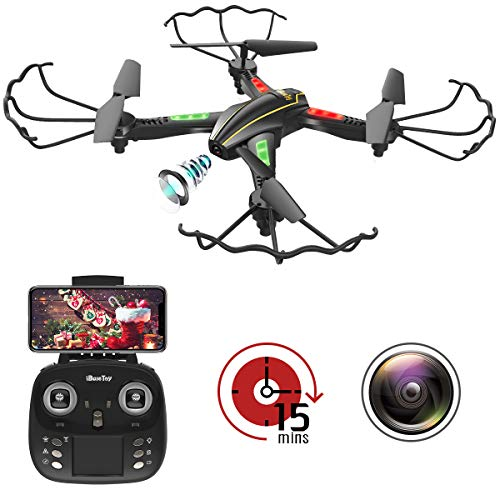 RC Quadcopter Drone with FPV Camera and Live Video image