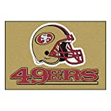 FANMATS NFL San Francisco 49ers Nylon Face Starter Rug