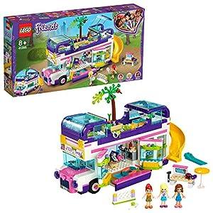 LEGO Friends IlBusdell'Amicizia con Piscina e Scivolo,Playset Vacanze Estive perBambine di 8 Anni, 41395 LEGO Friends LEGO