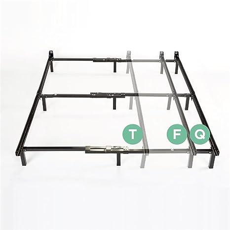 Amazon.com: Zinus Compack Adjustable Steel Bed Frame, Twin/Full