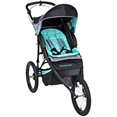 The Schwinn Arrow lets you take your baby out during your run with a jogging stroller actually designed for jogging and parents who want to share their love of exercise.Customize the adjustable handle to give yourself the perfect push angle a...
