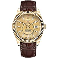 Rolex Sky-Dweller Yellow Gold Men's Watch 326138