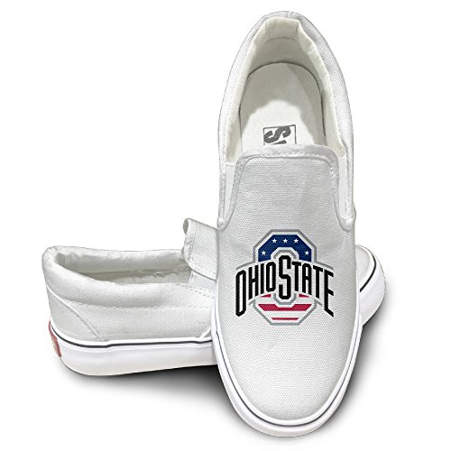 Ohio State Brutus Costume (HYRONE Ohio State University Columbus Cool Sport Shoes Baseball White Size 43)