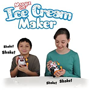 Set of 2 Ice Cream MUGZ Personal Ice Cream/Slushy Makers in Assorted Styles (may include Penguin, Grizzly Bear, Snowy Owl and/or Baby Seal)