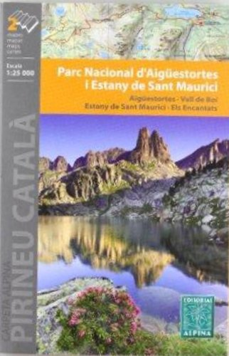 Descargar Libro Parc Nacional D'aigüestortes I Sant Maurici, Mapa Excursionista. Escala 1:25.000. Alpina Editorial. Vv.aa.